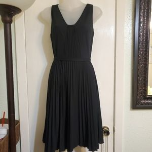 Ann Taylor pleated dress